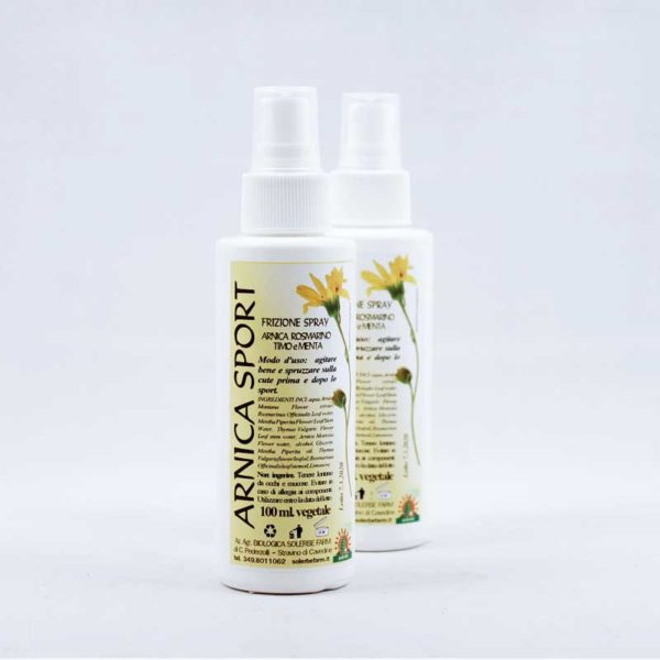spray all'arnica sport