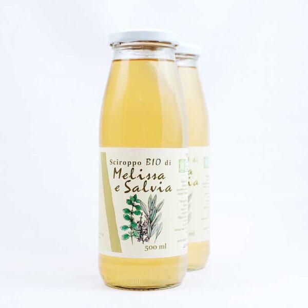 sciroppo bio di melissa e salvia
